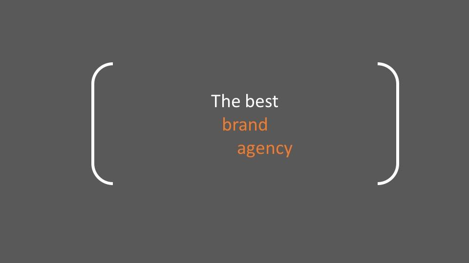 Una buena agencia de branding