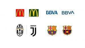 Ejemplos de cambio de logos