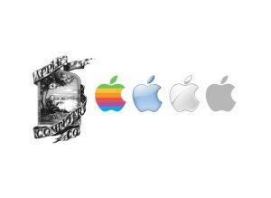 Restyling logo apple